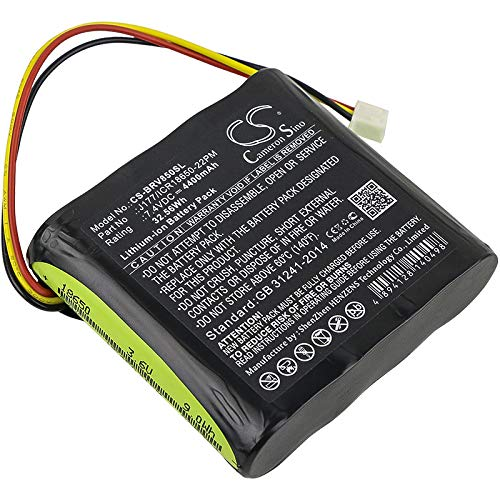 Cameron Sino Battery for Braven AE18650CM1-22-2P2S J177//ICR18650-22PM fits Braven 850 BRV-HD Klipsch KMC1