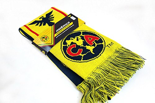 Club Soccer Scarf - Club América Authentic Official Licensed Soccer Scarf