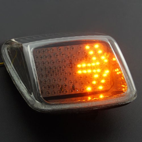 Custom Smoke Integrated 118 Led Turn Signal Blinker Lamp