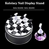 1 Set Nail Art Tips Holder Practice Display