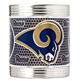 Great American Products NFL Los Angeles Rams Metallic Can Holder, Stainless Steel
