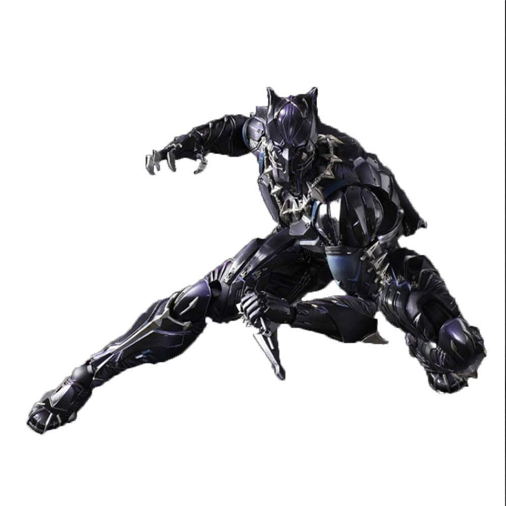 LIUYUN Avengers nero Panther nero Panther azione cifra Marvel, cifra 6 Pollici [nero Panther]