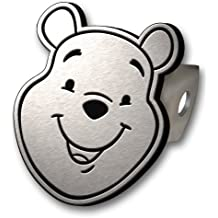 Winnie The Pooh Brushed Aluminum Hitch Plug
