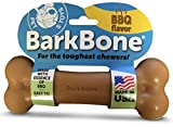 Cheap Pet Qwerks BBQ BarkBone Dog Chew Toys for Aggressive Chewers, Made in USA