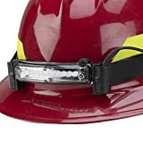 FoxFury 410-006 Command 10 LED Firefighter Helmet Light with 1'' Silicone Strap, 48 Lumens
