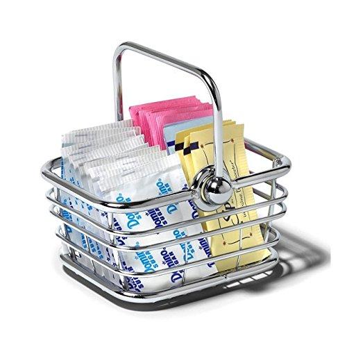 Spectrum Diversified 41970 Wire Sugar & Sweetener Packet Basket