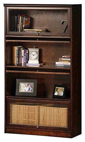 Eagle 5334PLCC Promo 4 Door Lawyer Bookcase, Concord Cherry - Glass Cherry Bookcase