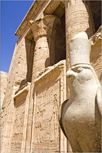 Book Temple of Horus at Edfu Egypt Journal: 150 page lined notebook/diary
