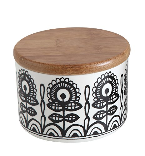 Creative Co op Ceramic Bamboo Multicolor