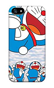 Hot Fashion JNxNfEd6614RHawI Design Case Cover For Iphone 5/5s Protective Case (doraemon)
