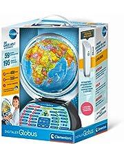 Clementoni Galileo Science 59184 Digitale wereldbol, sprekende wereldbol met interessante feiten, informatie over weer en plaatstijden, speelgoed voor kinderen vanaf 7 jaar, educatief speelgoed