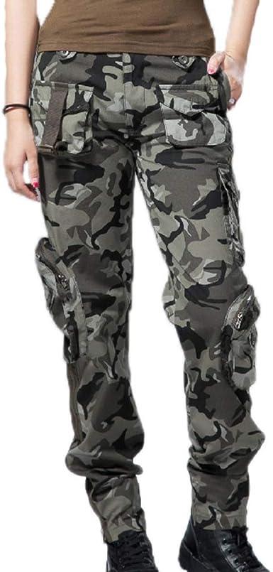 Worclub Pantalones Militares Para Mujer Pantalones Tacticos Pantalones De Camuflaje Para Mujer Pantalones Cargo Pantalones De Camping Para Exteriores Multifuncion Amazon Es Ropa Y Accesorios