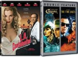 L.A. Confidential & Chinatown + The two Jakes Jack Nicholson DVD 3 Pack Crime Mystery Movie Set