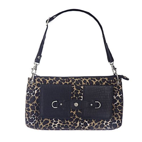 Travelon Microfiber Mini Shoulder Bag - Leopard from Travelon