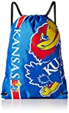 NCAA Kansas Jayhawks 2015 Drawstring Backpack, Blue