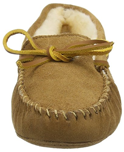 Moccasin Tan Minnetonka Sheepskin Women's Softsole ICwtwTq