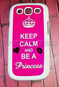 Samsung Galaxy S3 Case, Keep Calm and Be a Princess Galaxy S3 Cover, Samsung Galaxy S3 Cases, Galaxy S3 Case by Maris's Diary