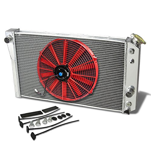 S10 Blazer V8 (Chevy Corvette L83 V8 Aluminum Racing 3-Row Radiator+16