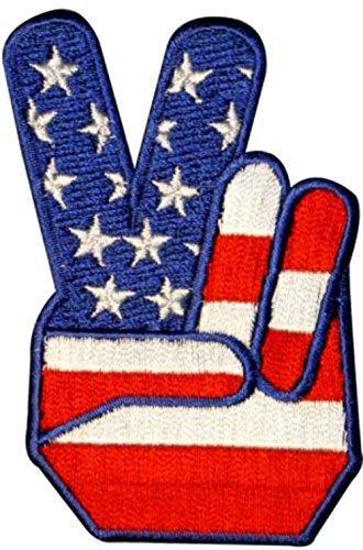 Peace Flag Patch - 8