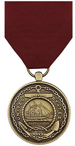 - Vanguard Full Size USN US Navy Good Conduct Medal Award