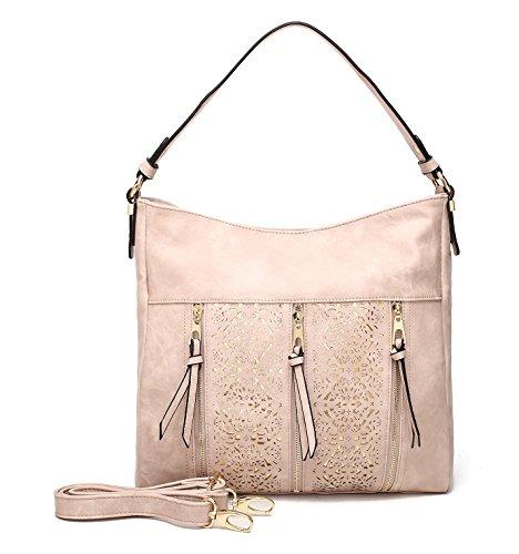 Farrow Collection Designer Mia by Pink Adalaya MKF Bag K Hobo Crossbody HPOBqgzgw