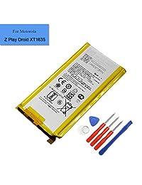 Batería de repuesto para Motorola Moto Z Play Droid XT1635 Li ion GL40 3300mAh 3.8V batería interna con herramientas