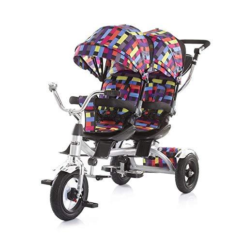 Triciclo Gemelar Chipolino Tandem Multicolor