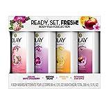 Olay Fresh Outlast Body Wash Sampler Pack - 4 Body Washes, 3 FL OZ Each, 12 FL OZ Total