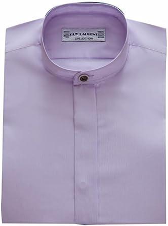 Vision-Camisa para hombre, diseño de novio con cuello alto ...