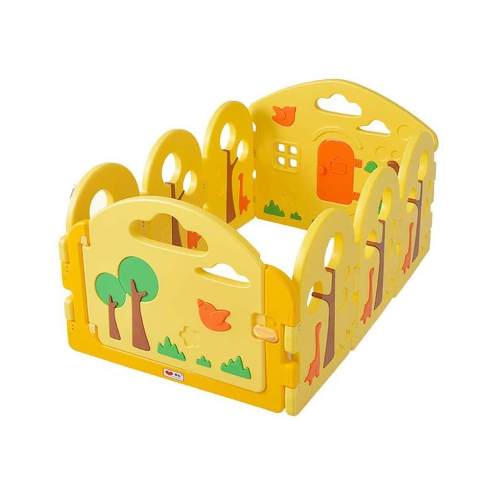 ガードレール ベビーフェンスゲームフェンスクロールマット屋内家庭ベビーセーフティフェンス教育玩具 (サイズ さいず : 200 * 240cm) B07GNKP6XT 80*120cm  80*120cm