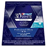 #2: Crest 3D White Professional Effects Whitestrips Dental Teeth Whitening Strips Kit, 20 Treatments + BONUS 1 Hour Express Whitening Strips, 2 Treatments - (PACKAGING MAY VARY)