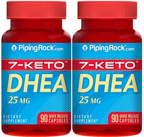 7-кето DHEA 25 мг 2 бутылки x 90 капсулы