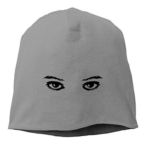 DMN Fashion Solid Color Eye Clip Art Turtleneck Cap For Unisex DeepHeather One Size