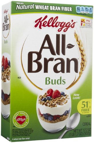 Kellogg's All-Bran Bran Buds Cereal - 17.7 oz -