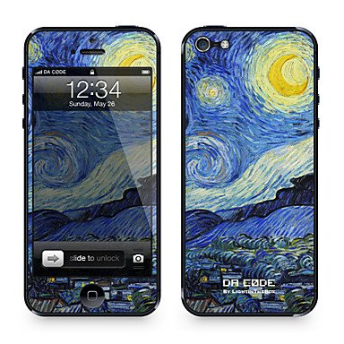 Skin for iPhone 5: Starry Night by Vincent van Gogh (Masterpieces Series): Amazon.co.uk: Electronics