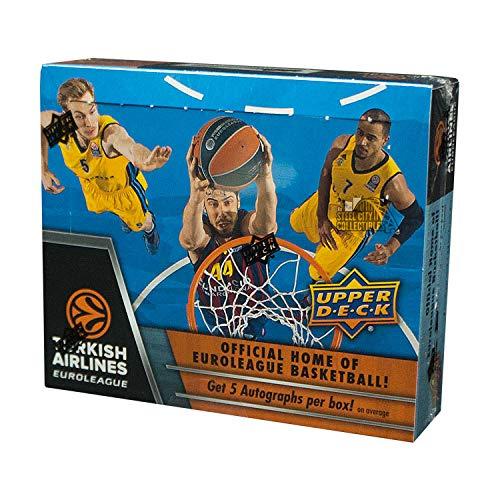 (2015-16 Upper Deck Turkish Airlines Euroleague Basketball Hobby Box)