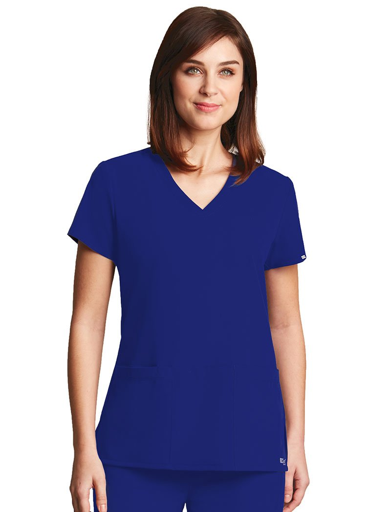 Grey's Anatomy SHIRT レディース B013IOFIK6 L|ブルー(Electric Blue) ブルー(Electric Blue) L
