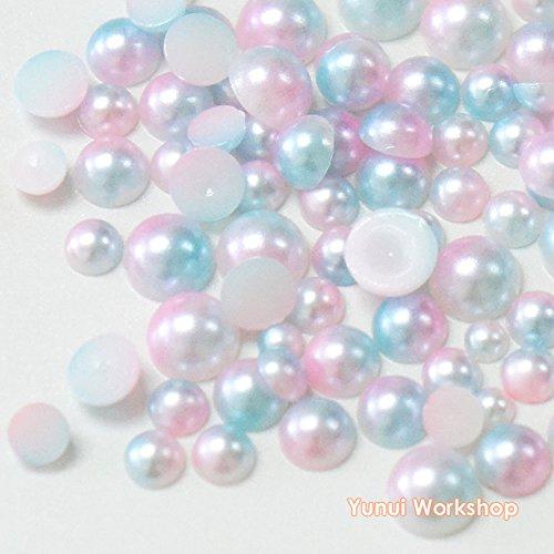 resin pearl cabochons - 9