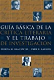 This guide combines both the theory of literary criticism and the practicality of how to write a literary research paper into a single text. Divided into three major sections-literary criticism, the literary research paper, and a section on t...