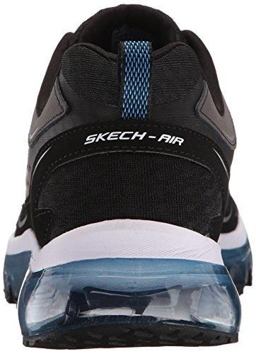 Skechers Sport Herren Skech Air Supreme Trainingsschuh, Schwarz / Blau