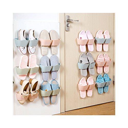 Shoe Wheel Storage for 12 Pairs (Pink) - 4