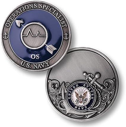 navy operations specialist enamel