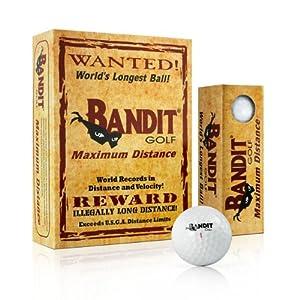 Bandit Maximum Distance Golf Balls by Hireko Golf