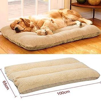 Yaheetech Cama de Perros Mascota Casa Suave Cómoda 100 x 65 x 15 cm: Amazon.es: Productos para mascotas