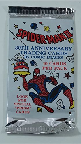 Retro Unopened 1992 Spider-man (1) Wax Pack Trading Cards Non-sport from Comic Images