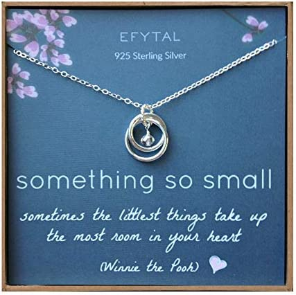 EFYTAL Sterling Necklace Mothers Jewelry product image