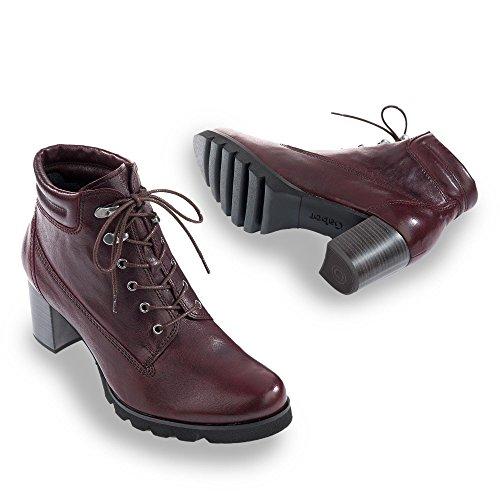 Sale–Gabor–Bottines pour femme–Rouge Chaussures Femme dans différentes tailles Rouge - Bordeaux UjfNBI5P