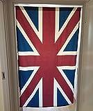 OLizee British Style Union Jack Household Accessories Home Decor(Door Curtain)