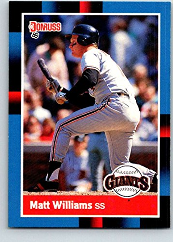 Baseball MLB 1988 Donruss #628 Matt Williams NM-MT RC Rookie -