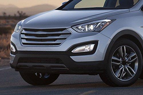 auto-tech luz diurna coche DRL LED Kit de sustitución, para Hyundai IX45 Santa Fe 2013 - 2015: Amazon.es: Coche y moto
